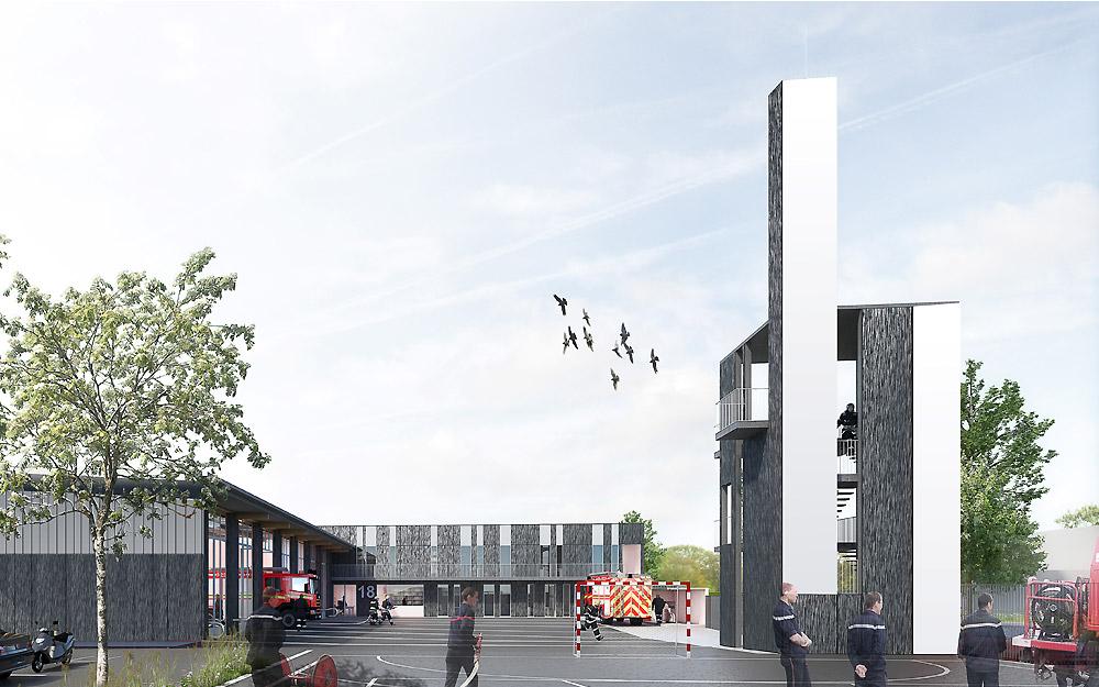 Centre Départemental d'Incendie et de Secours ZAC de la Halotte