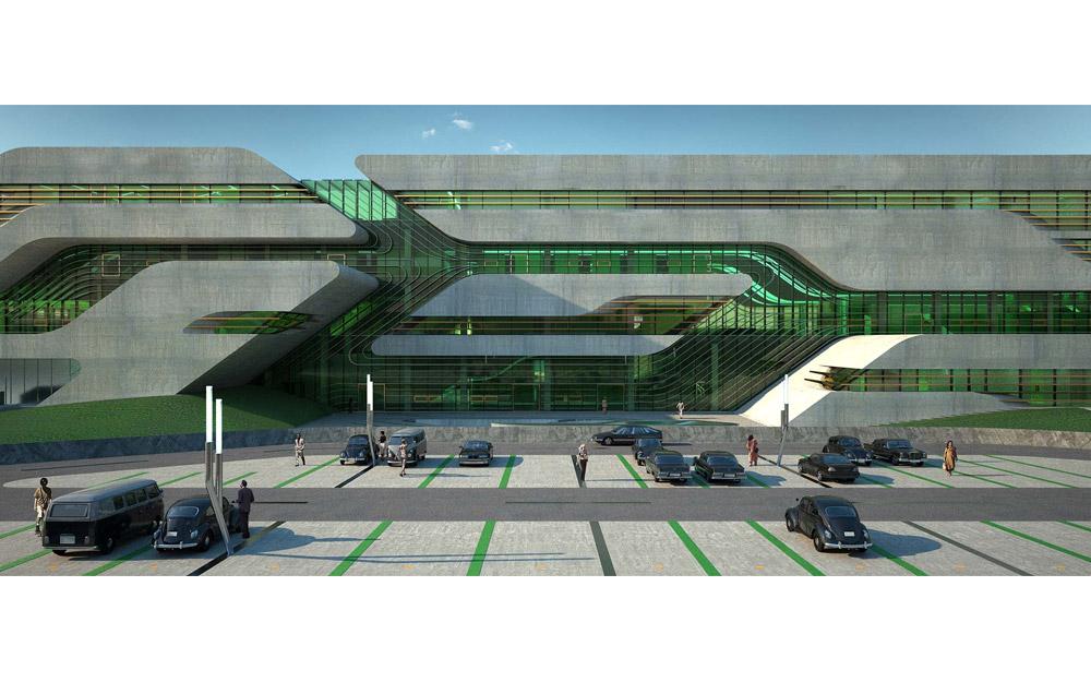 Bâtiment Pierres Vives – Montpellier