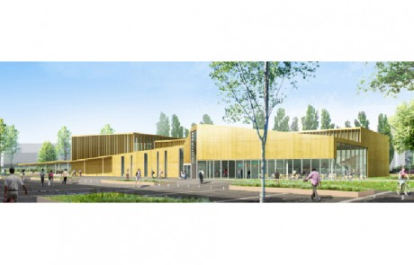 Salle de sport, squash et badminton à Chartres
