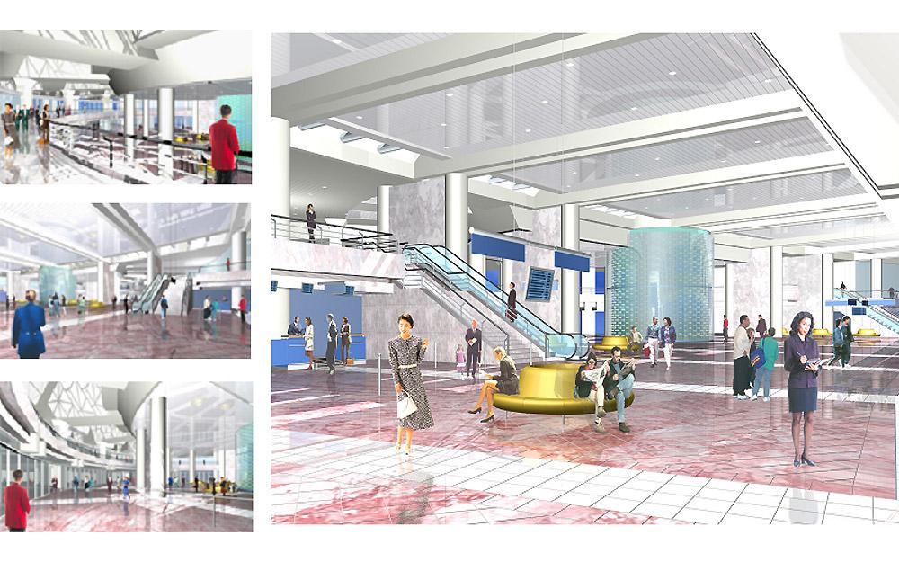 Construction du Terminal Passagers de l'Aéroport Houari Boumediene – ALGER (Algérie)