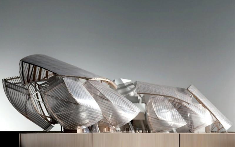 construction du Bâtiment « Nuage » pour la Fondation Louis Vuitton