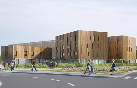 Construction d'un internat de 70 places, Chevilly-Larue