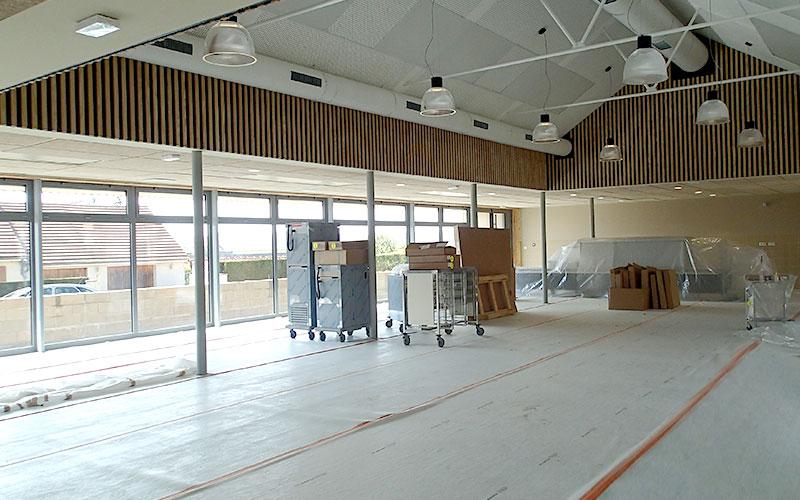 Réhabilitation et Extension du Groupe Scolaire Elémentaire Roger FOUSSAT et Construction du restaurant scolaire à NAVEIL