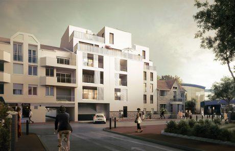 Réalisation d'un programme de construction neuve de 25 logements à Savigny-Sur-Orge.