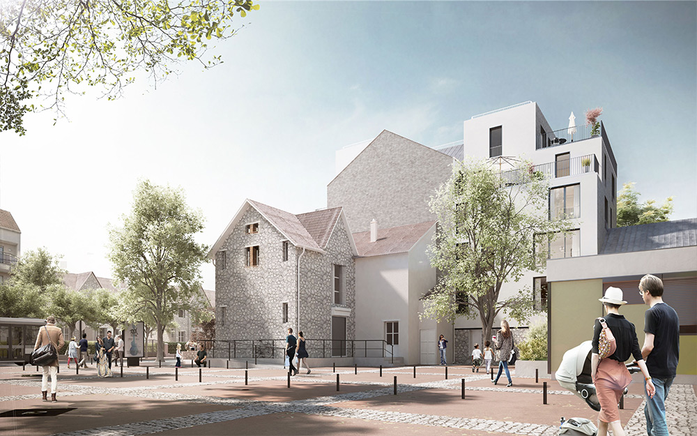 Réalisation d'un programme de constructions neuves de 25 logements à Savigny-Sur-Orge.