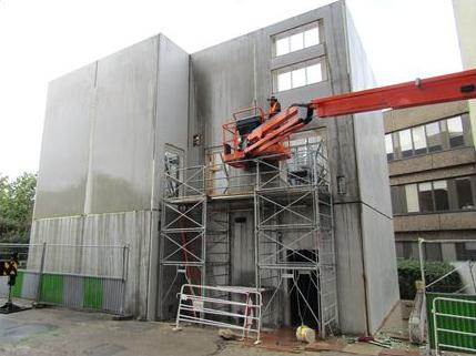 Installation d'un bâtiment modulaire provisoire pour l'accueil des services du Tribunal de Grande Instance